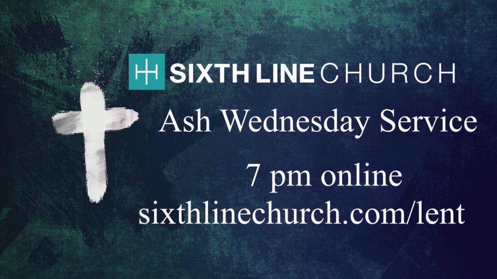 Ash Wednesday 2021 Image